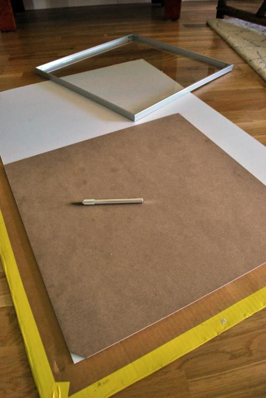 how to cut a mat for framing artwork