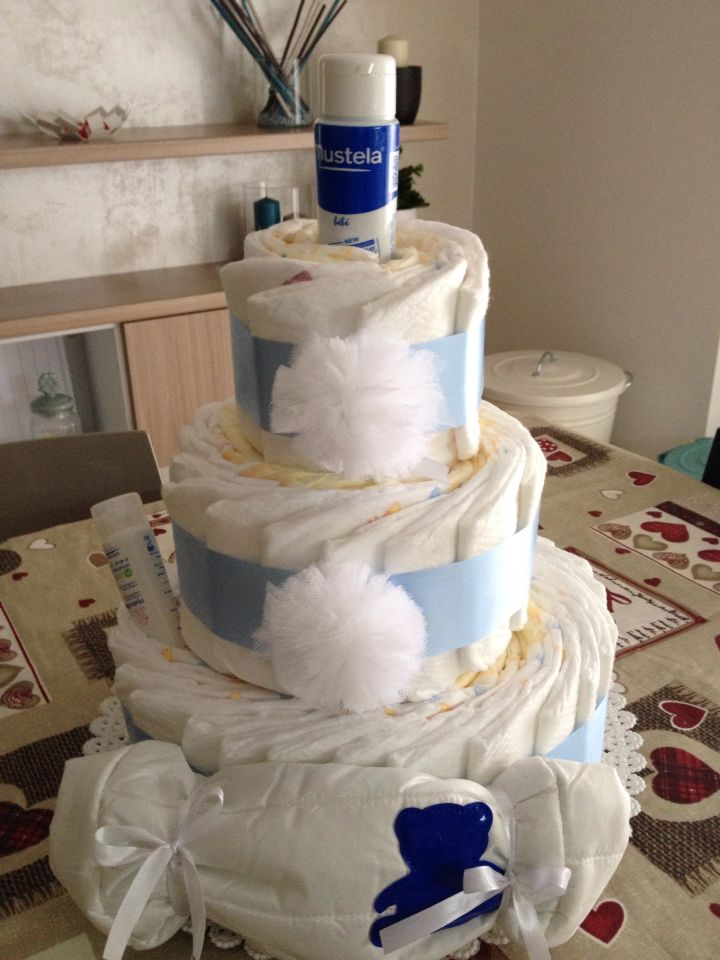 Diapers Cake boy!