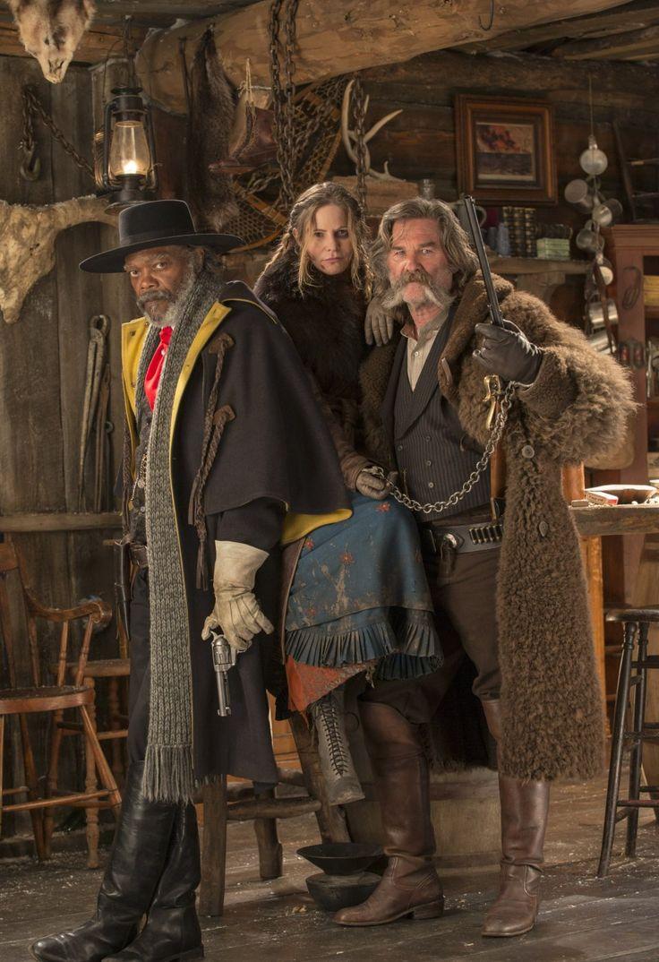 The Hateful Eight (2015) with Samuel L. Jackson, Jennifer Jason Leigh, Kurt Russell