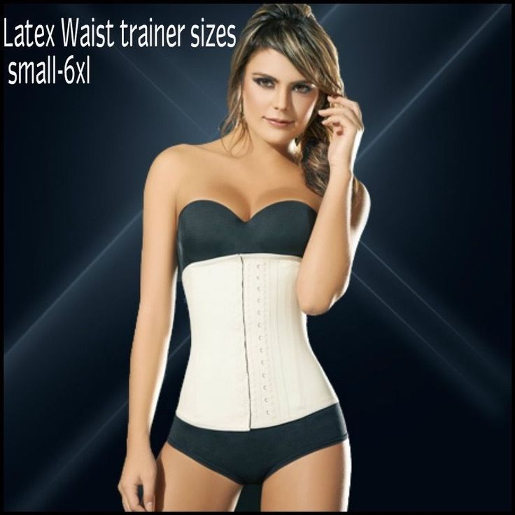 Women's Plus Size Latex Waist Trainer Underbust  Corset Shaper Training xs-6xl