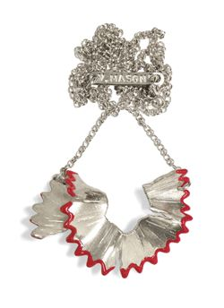 sharpening necklace - red