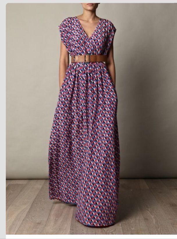 Schnittmuster: Hippie-Kleid nähen - eine Anleitung - BRIGITTE