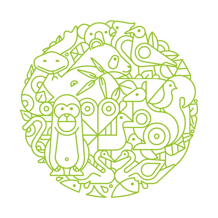 By maxrains on Hiiibrands. Potential logo for the wildlife park in Ordos.