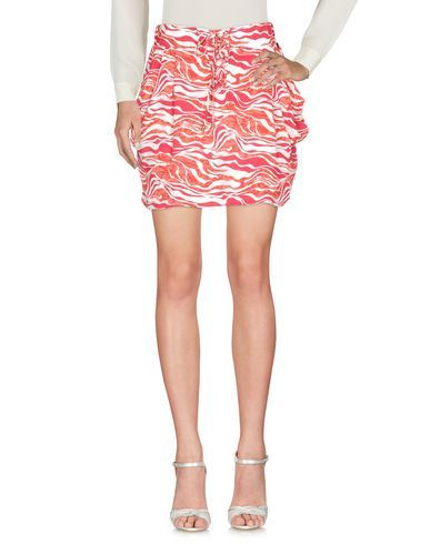 PEPE JEANS Women's Mini skirt Red XL INT