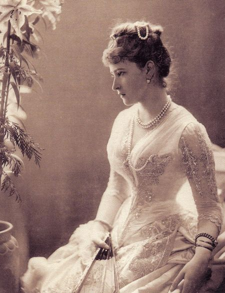Ella.. Grand Duchess Elizabeth Feodorovna of Russia (a German princess and sister