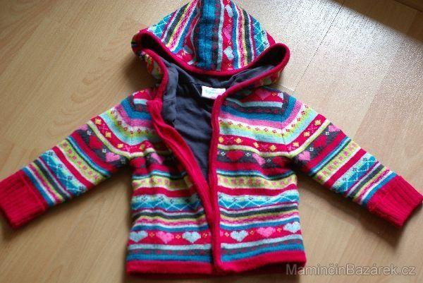 kabátek / silnější svetr TOPOLINO, vel. 92 | Oblečení pro batolata | Bazárek pro děti