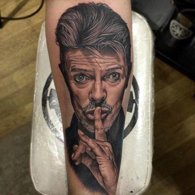 2-david bowie tattoos