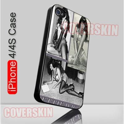 Vintage Bettie Page Pin Up iPhone 4 or 4S Case Cover