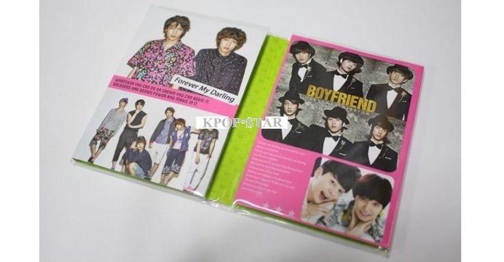 BoyFriend Boy Friend Portable Photo Memo Pad KPOP Korean K Pop Star
