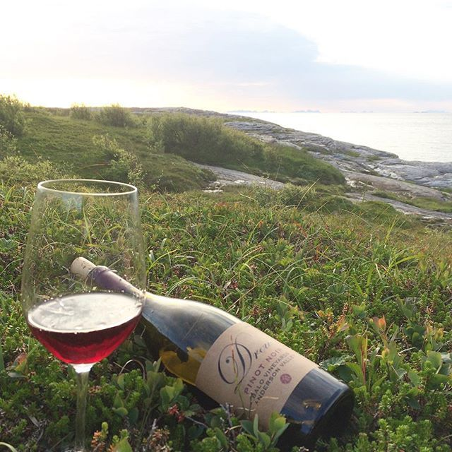 Corked the Drew Pinot from last night and having the remains today at the seaside. I'm afraid the wine is not as good as yesterday. It has lost some of its frui…