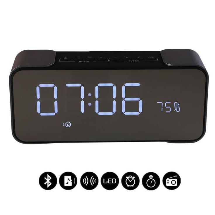 25 best alarm clock radio ideas on pinterest teen gifts teen girl gifts and gifts for teens. Black Bedroom Furniture Sets. Home Design Ideas