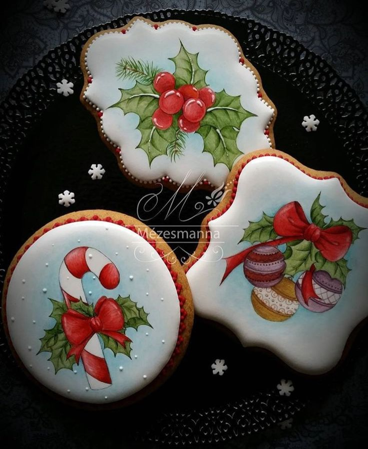 Amazing cookies | Пряники имбирные на Новый год ... - photo#24