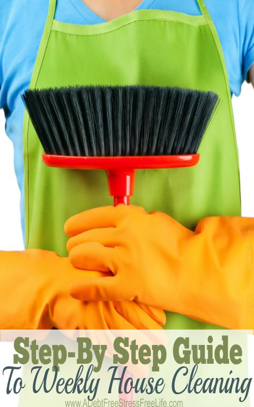 Cleaning your home can be easy when you clean like the professionals. Use this handy step by step guide - you'll love tip #3.