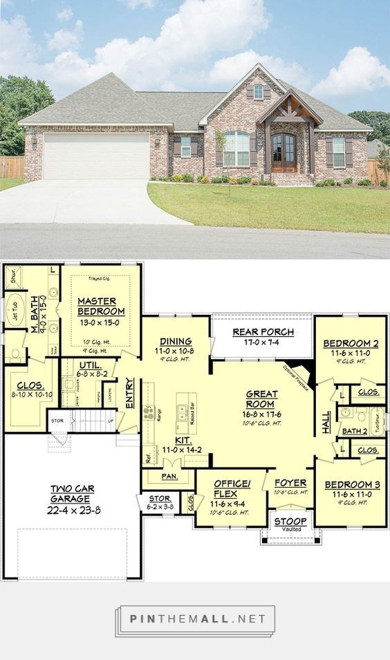 96 best images about 1800 sq ft house plans on pinterest for 1800 sq ft craftsman style house plans