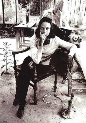Portrait de Niki de st Phalle - Shimony gallery