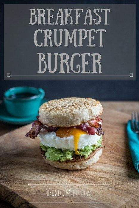 This Breakfast Crumpet Burger may be the ultimate brunch recipe - it'll clear a hangover at fifty paces and morph you into the Don of weekend breakfasts!  It'll probably make you more handsome too, although I may have made that bit up... Enjoy! hedgecombers.com