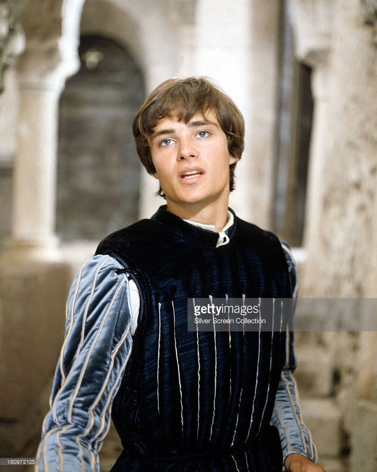 British actor Leonard Whiting as Romeo, in 'Romeo And Juliet', directed by Franco Zeffirelli, 1968.