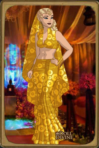 Princesa Lileyn en traje Árabe