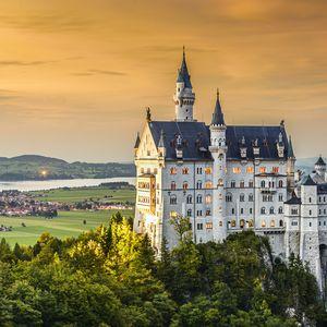 Fototapet Neuschwanstein Castle