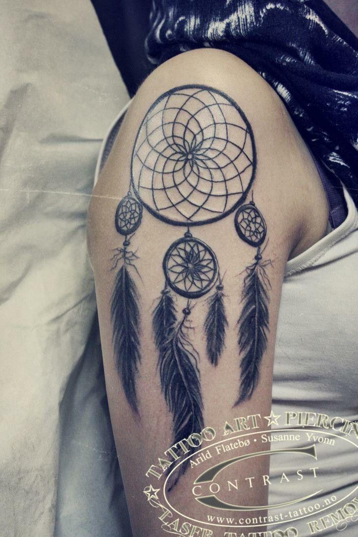 Contrast ink Tattoo art