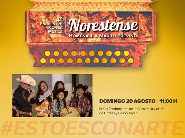 #NORESTENSE2017 LOS NIÑOS TAMBORILEROS DE LINARES llegan hasta nuestra ciudad para deleitarnos con lo mejor de nuestra música tradicional! #Agosto2017 #EstoEsCONARTE