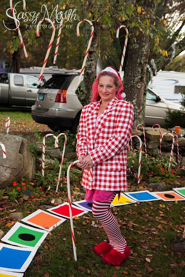 Mr. Mint Costume Candy Land Halloween theme - Strawberry Park Campground -  CT Photographer Sassy Mouth