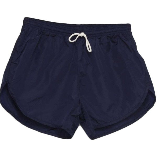 American Apparel Nineties Vintage Shorts: 90s -American Apparel- Mens... ($20) ❤ liked on Polyvore featuring men's fashion, men's clothing, men's shorts, shorts and bottoms