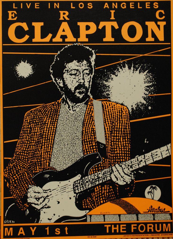 Eric Clapton @ The Forum, 1990