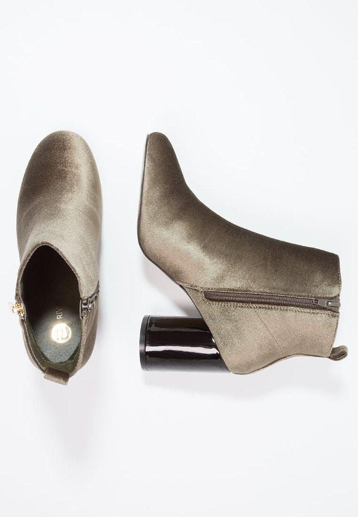 River Island Ankle boot - khaki - Zalando.pl