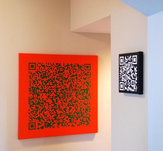 Barcode Gallery: QR codes become wall art - CNET