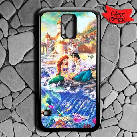 Disney Ariel And Eric Samsung Galaxy S5 Black Case