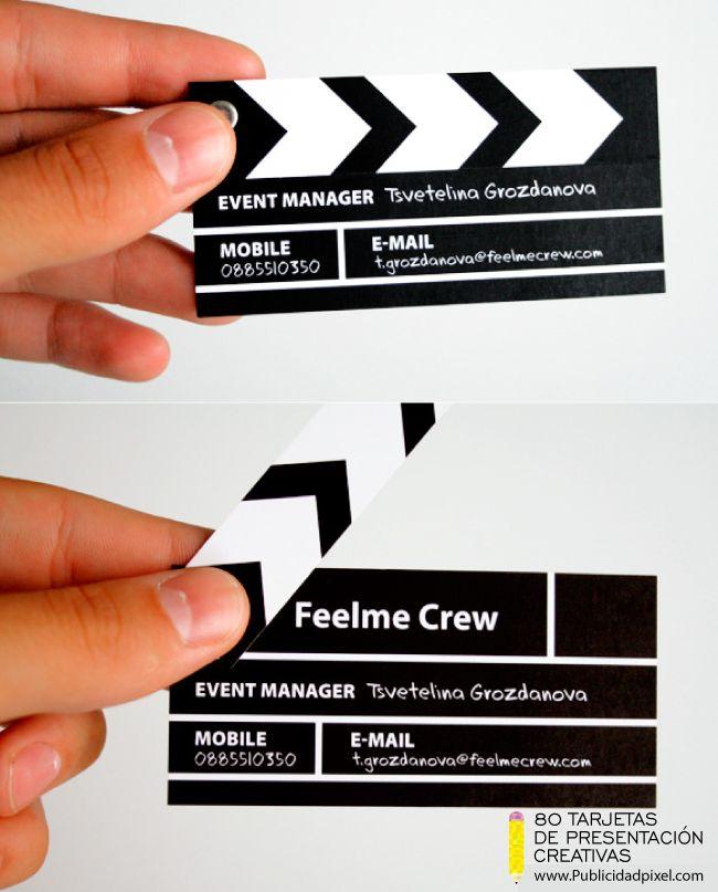 tarjeta de presentacion creativa