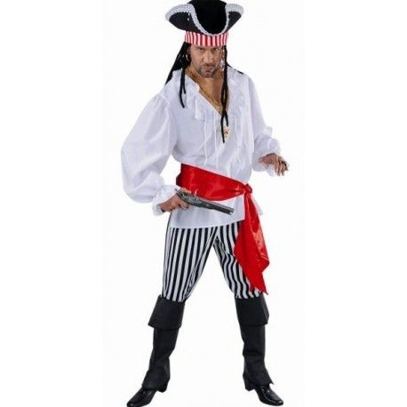 Déguisement pirate homme deluxe