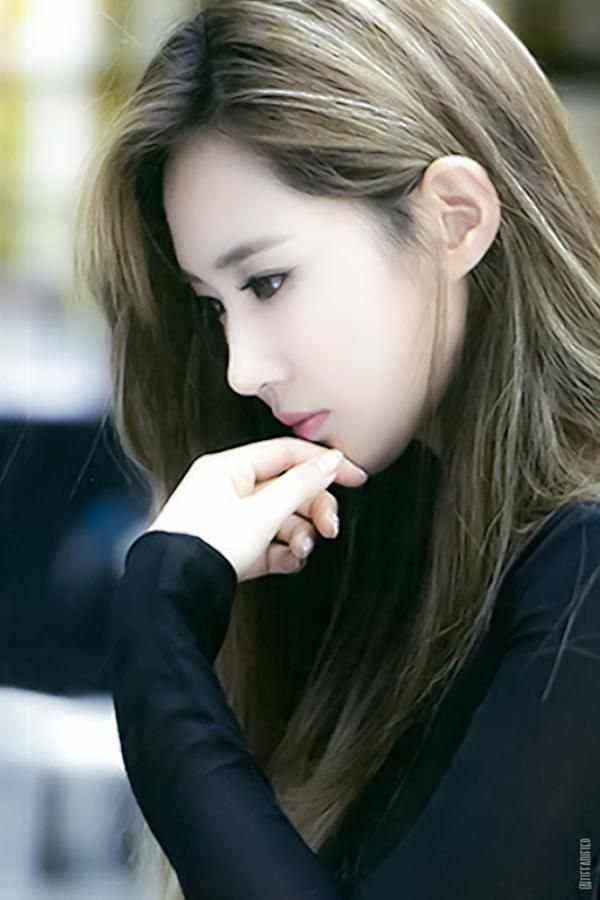 Yuri is one of the prettiest members- perfect skin, perfect body
