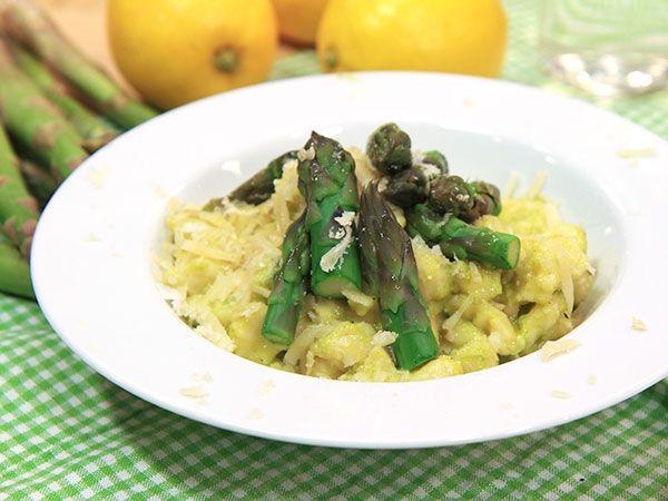 Hemgjord gnocchi med sparrispesto   Recept.nu