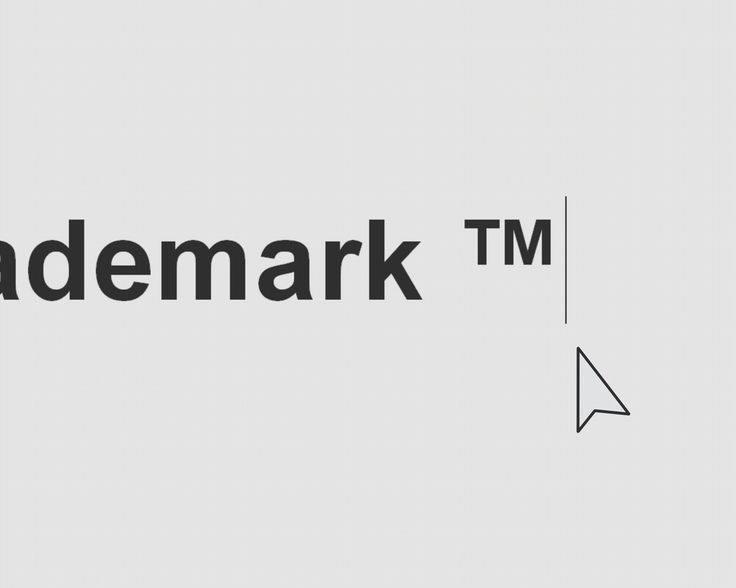 This article explains how to type the trademark symbol as seen here ™ or here ®. Make sure that Num Lock is on.