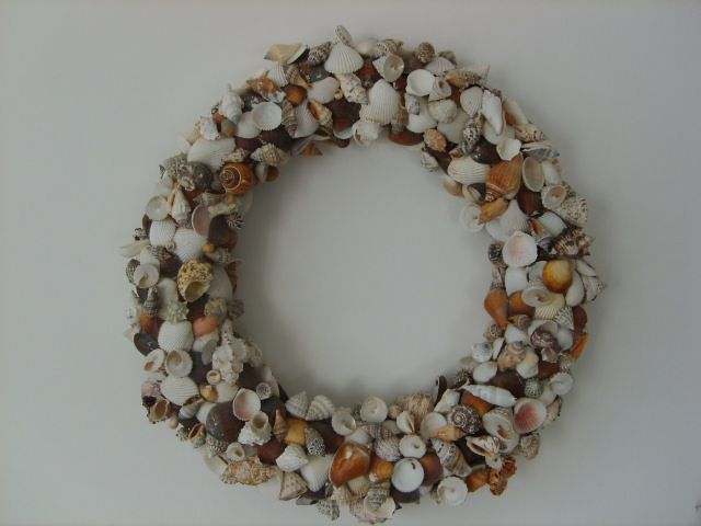 Krans van schelpjes
