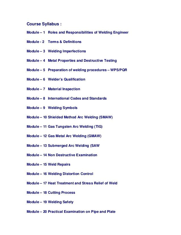 8 best Welding Inspector Course images on Pinterest Welding - ndt resume format
