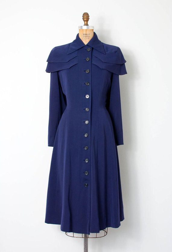 vintage 1940s princess coat • the Spellbound coat