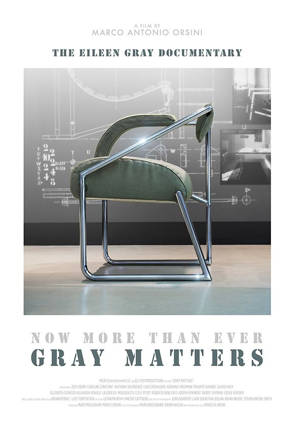 Eileen Gray's Bibendum Armchair - Out of the documentary film Gray Maters - The Little Film Company