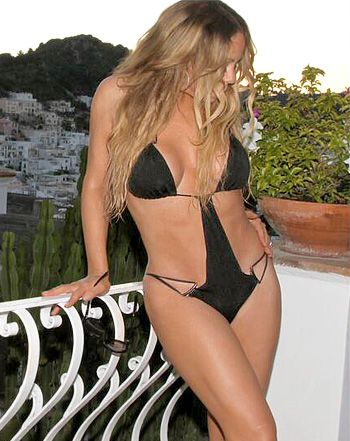 Mariah carey bikini body thanks for