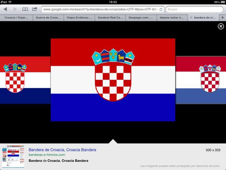 Bandera flag de of croacia hrvatska