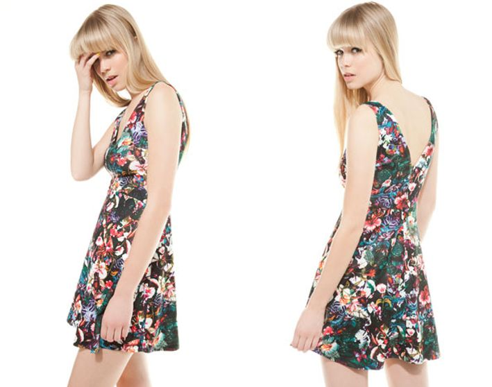 Bershka vestidos