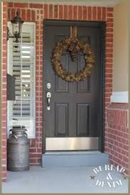Image result for red brick home front door
