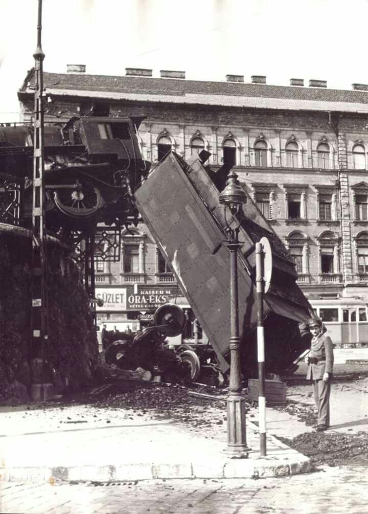 1948. Déli pályaudvari mozdonybaleset.