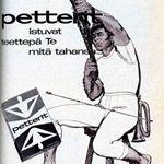 Suomen Trikoo Petterit sopivat kaikkeen miehekkääseen toimintaan. Kotiliesi 7/1961.