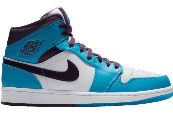 7a29607e253367 The Air Jordan 1 Mid Hornets Is Ready For Easter