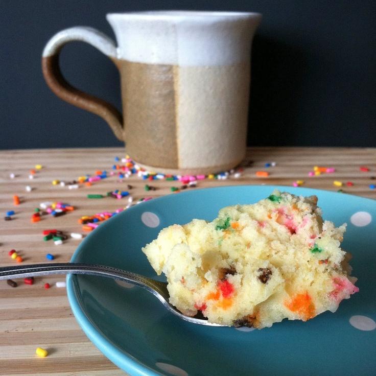 Funfetti Mug Cake by Wendy See Wendy Do