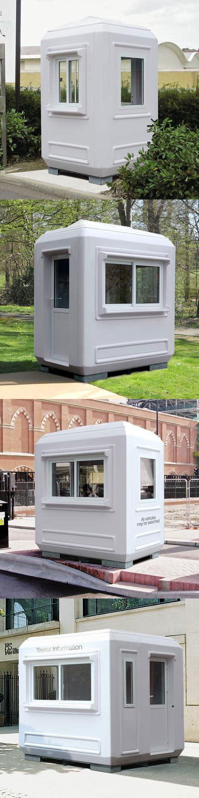 Our GRP Genesis™ kiosks are robust, strong and portable. Insulated and weather resistant they are ideal for a large variety of outdoor applications such as ticket kiosks, toll booths and petrol forecourts kiosks. #ModularBuildings #GlasdonUK