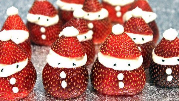 Lol! Christmas Recipe | Easy Cold Strawberry Dessert | Delicious Food